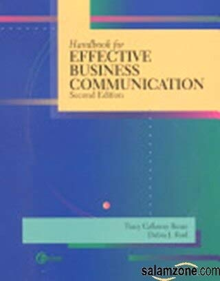 9780072436150: Handbook for Effective Business Communication