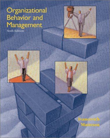 9780072436389: Organizational Behavior and Management