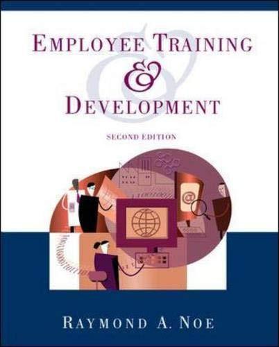 9780072436617: Employee Training & Development