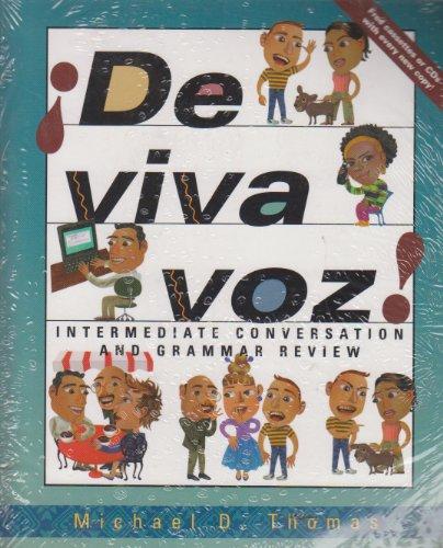 9780072437393: ¡De viva voz!: An Intermediate Conversation and Grammar Review Course (Student Edition + Listening Comprehension Audio CD)