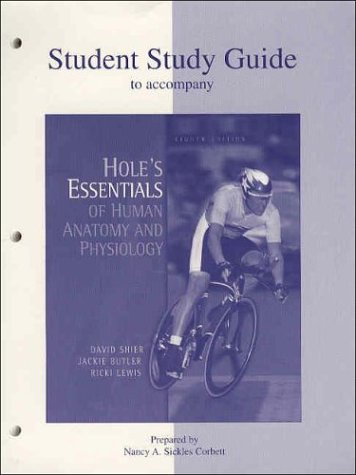 9780072438130: Hole's Essentials of Human Anatomy and Physiology, Study Guide