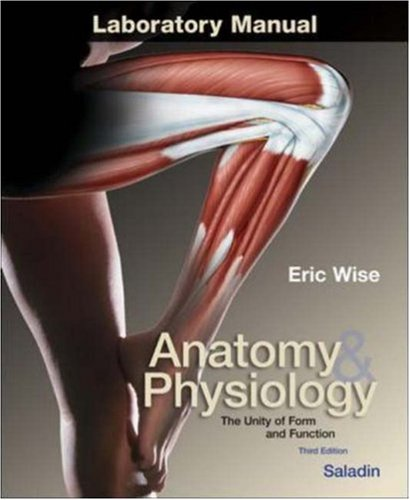 9780072438161: Anatomy and Physiology: Laboratory Manual to ...