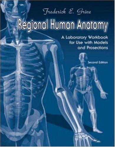 9780072438888: Regional Human Anatomy: A Laboratory Workbook For Use With Models and Prosections