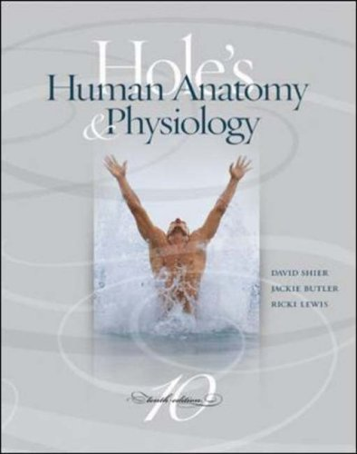 9780072438901: MP: Hole's Human Anatomy & Physiology with OLC bind-in card