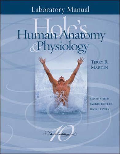 9780072438918: Laboratory Manual to accompany Hole's Human Anatomy & Physiology