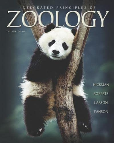 9780072439403: Integrated Principles of Zoology
