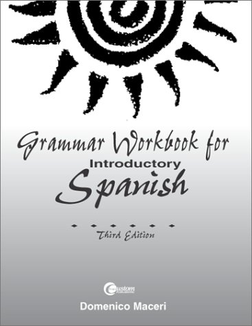 9780072440256: Grammar Workbook for Introductory Spanish
