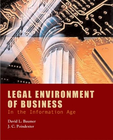 9780072441154: Legal Environment of Business in the Information Age