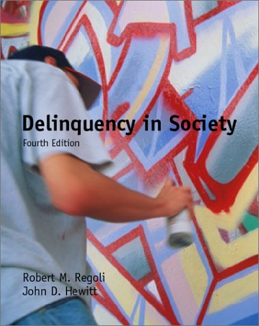 9780072441369: Delinquency in Society