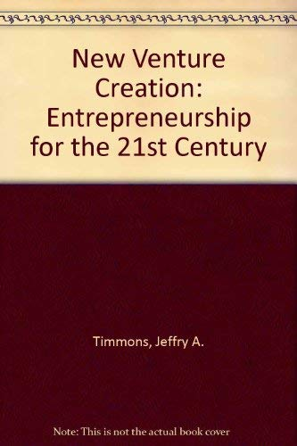 9780072443011: New Venture Creation: Entrepreneurship for the 21st Century