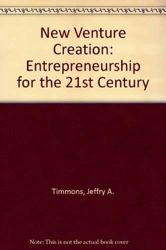 9780072443011: New Venture Creation: Entrepreneurship for the 21st Century