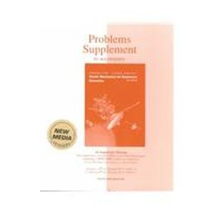 9780072443516: Problems Supplement to Accompany Vector Mechanics for Engineers Dynamics
