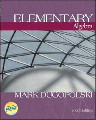9780072443912: MP: Elementary Algebra w/ OLC Bind-In Card