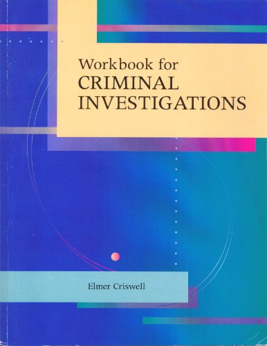 9780072447125: Workbook for Criminal Investigations