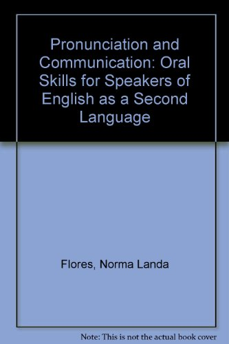 9780072447651: Pronunciation and Communication: Oral Skills for Speakers of English as a Second Language