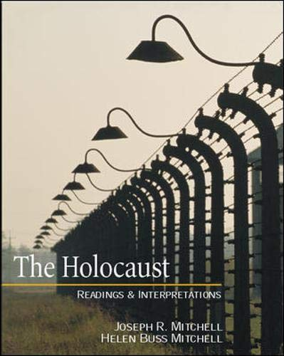 9780072448160: The Holocaust: Readings and Interpretations (Textbook)