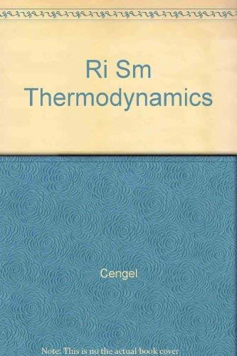 9780072451139: Ri Sm Thermodynamics