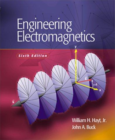 9780072451924: Engineering Electromagnetics : Sixth Edition