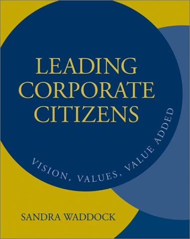 9780072453904: Leading Corporate Citizens