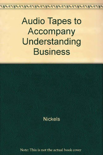 9780072453942: Audio Tapes-Understanding Business