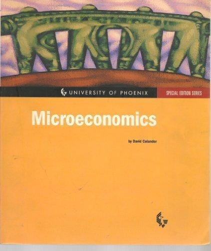 9780072454529: Microeconomics : Fourth Edition