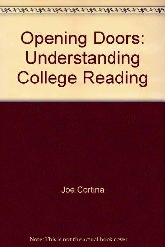 9780072456288: Opening Doors: Understanding College Reading