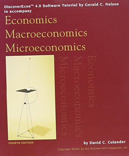 9780072457643: Discover Economics
