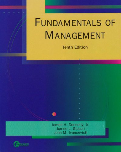 9780072457858: Fundamentals of Management