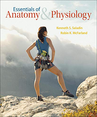 9780072458282: Essentials of Anatomy & Physiology
