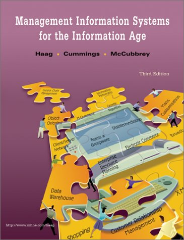 9780072458725: Management Information Systems for the Information Age, 3rd Edition, hc, 2002