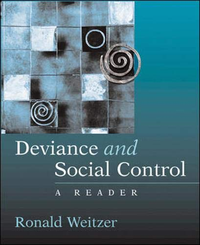 9780072459005: Deviance and Social Control: A Reader