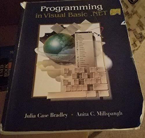 9780072459036: Programming in Visual Basic .Net