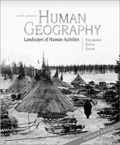 9780072459418: Human Geography: Landscapes of Human Activities
