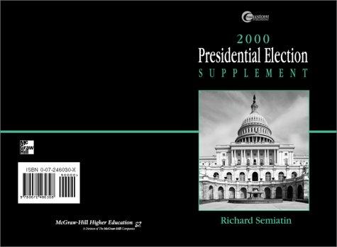 9780072460308: 2000 Presidental Election Supplement