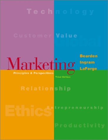 Marketing Paperback w/PowerWeb Package: William O Bearden, Thomas N Ingram, Raymond W LaForge