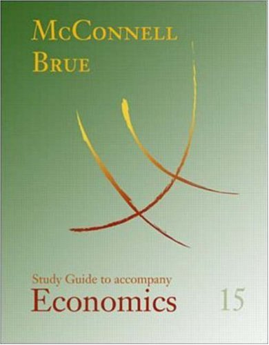 9780072461374: Study Guide to accompany Economics