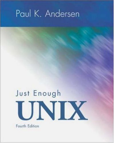 9780072463774: Just Enough Unix