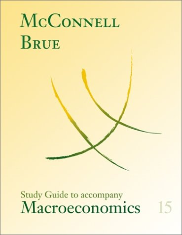 9780072463798: Study Guide for use with Macroeconomics