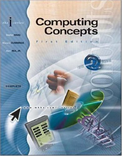 9780072464016: I-Series: Computing Concepts, Complete Edition