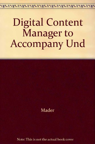 9780072464436: Digital Content Manager to Accompany Und