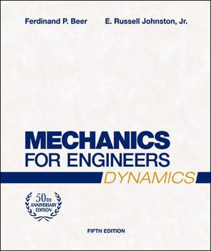 9780072464771: Mechanics for Engineers, Dynamics (Mechanical Engineering)