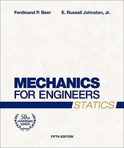 9780072464788: Mechanics for Engineers, Statics