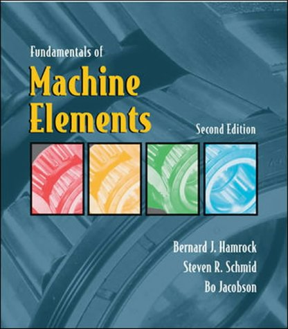 9780072465327: Fundamentals of Machine Elements