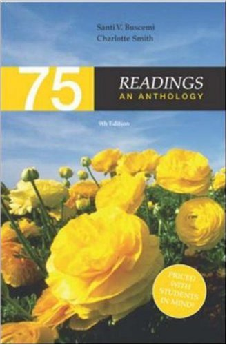 9780072465426: 75 Readings: An Anthology