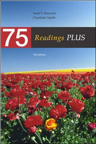 9780072465457: 75 Readings Plus