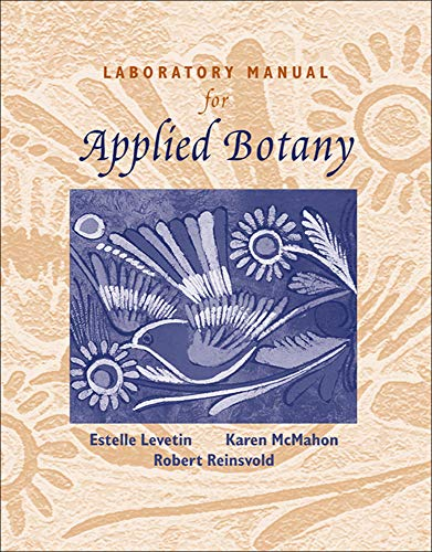 9780072465488: Laboratory Manual for Applied Botany