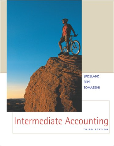 Intermediate Accounting: Spiceland; James F.