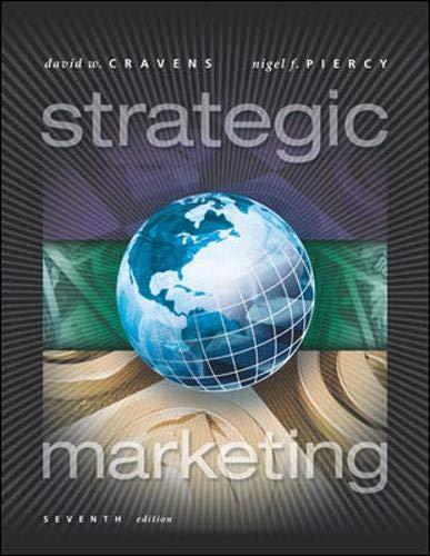 9780072466652: Strategic Marketing (McGraw-Hill/Irwin Series in Marketing)