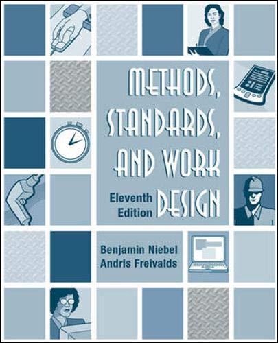 9780072468243: Methods, Standards, & Work Design