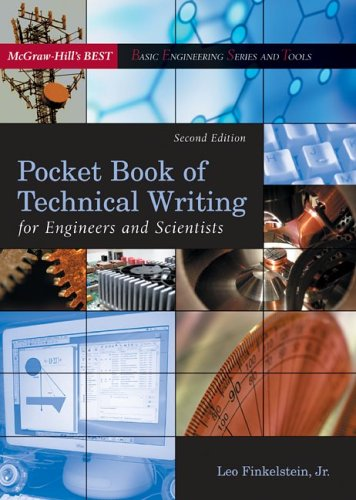 9780072468496: Pocket Book of Technical Writing for Engineers and Scientists (McGraw-Hill's Best: Basic Engineering Series and Tools)